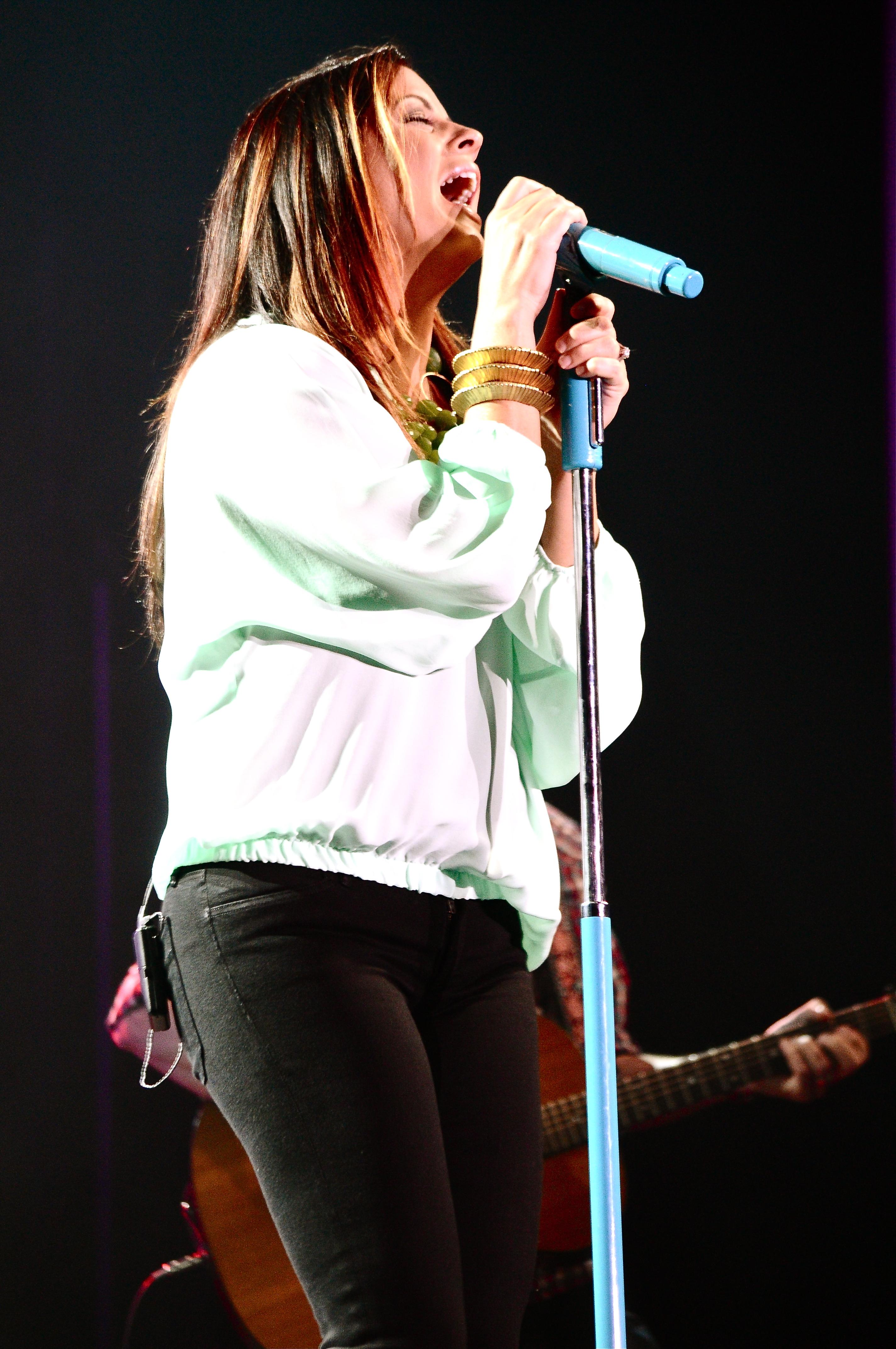 A LITTLE BIT STRONGER Lyrics - SARA EVANS - eLyrics.net